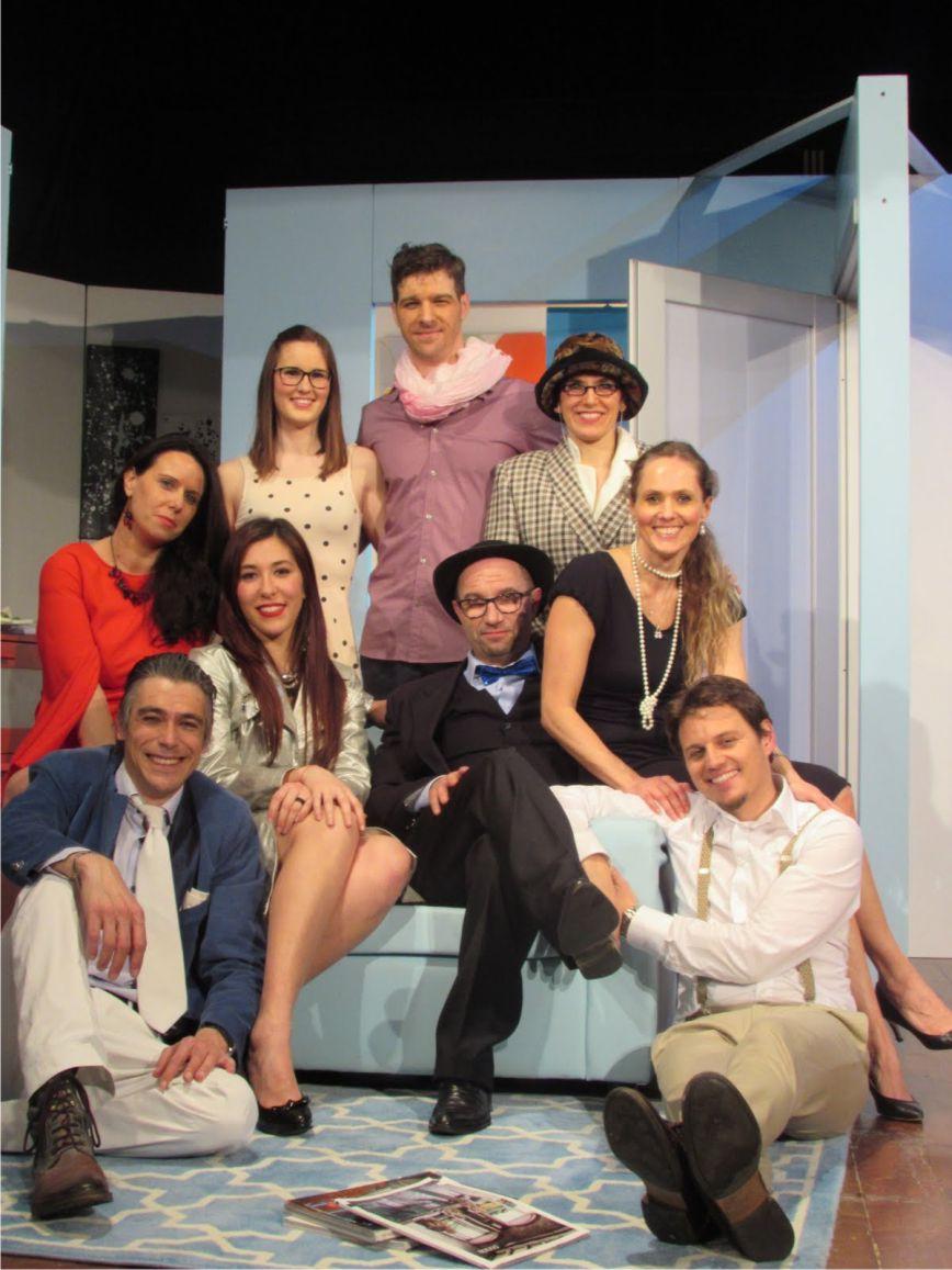 Commedia brillante teatro ca 39 balbi - Letto ovale trama ...